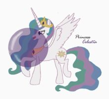 Bubblegum Princess Celestia - Bubbly Princess of Day  Kids Clothes