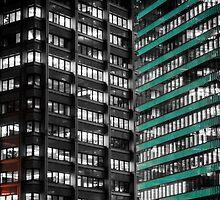 Office Buildings by LaniPix