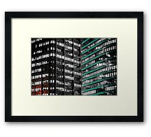 Office Buildings Framed Print