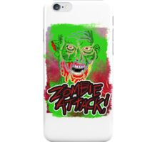 Funky Zombie Attack iPhone Case/Skin