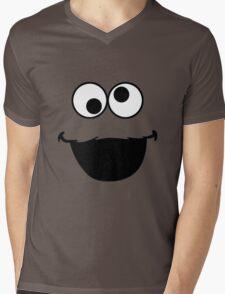 Elmo Face Mens V-Neck T-Shirt
