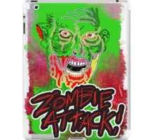 Funky Zombie Attack iPad Case/Skin