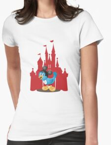Huggybird Mouse Womens Fitted T-Shirt