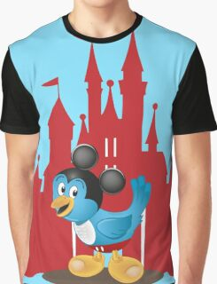 Huggybird Mouse Graphic T-Shirt
