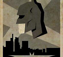 Batman Alternative Poster by Jakecolling