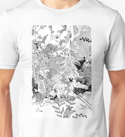 In the magic heart of the tropical forest. Unisex T-Shirt
