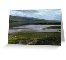 Cloud Reflections on Loch Eil Greeting Card