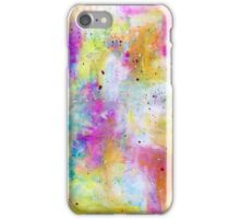 Abstract warm colours iPhone Case/Skin