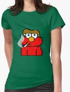 Elmo Smoking Womens Fitted T-Shirt