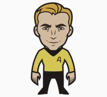 Capn' Kirk by DisfiguredStick