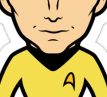 Capn' Kirk Sticker