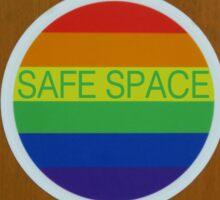 """LGBT """"Safe Space"""" sticker  Sticker"""