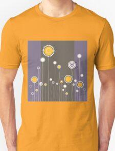 Retro Floral Pattern Unisex T-Shirt