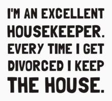 Divorced Housekeeper Kids Tee