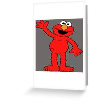 Elmo Greeting Card