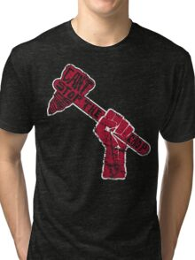 Can't Stop the Chop Tri-blend T-Shirt