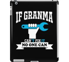 best gift for granma iPad Case/Skin