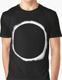 Danisnotonfire circle eclipse Black Only Graphic T-Shirt