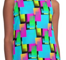 Retro Party Contrast Tank