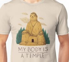 my body is a temple Unisex T-Shirt