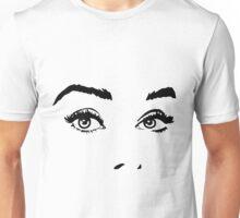 Audrey Hepburn Face - Breakfast at Tiffany's Unisex T-Shirt
