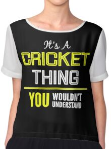 Cricket Chiffon Top