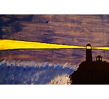Cape Disappointment Lighthouse Photographic Print