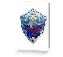 The Hylian Shield Greeting Card