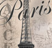 Women's Paris T-Shirt  Sticker