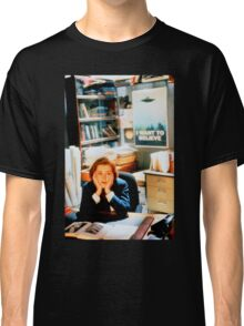DANA SCULLY x files - I Want To Believe Classic T-Shirt