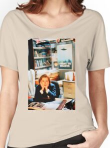 DANA SCULLY x files - I Want To Believe Women's Relaxed Fit T-Shirt