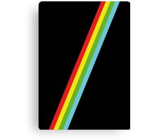 Speccy Lines Stripes Canvas Print