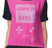 Pink Gamer Girl T Shirt Chiffon Top