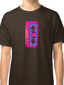 Retro 80's 90's Neon Patterned Cassette Tapes Classic T-Shirt