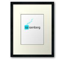 Heisenberg Framed Print