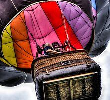 Hot Air Balloon Decent by thomr
