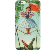 umbrella girl iPhone Case/Skin