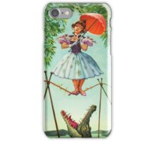 umbrella girl iPhone Case/Skin