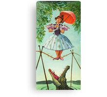 umbrella girl Canvas Print