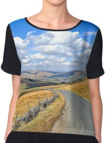 The Yorkshire Dales. Chiffon Top