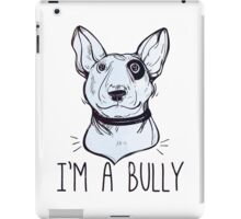 Bull Terrier  - Bully iPad Case/Skin