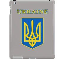 Ukraine coat of arms iPad Case/Skin