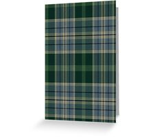 02755 St. Clair County, Illinois  Fashion Tartan Greeting Card