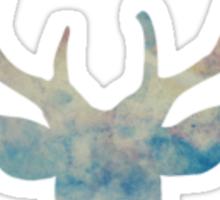 Blue Deer Spirit Animal  Sticker