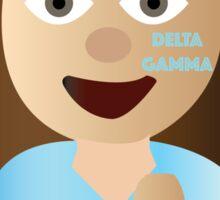 delta gamma emoji Sticker