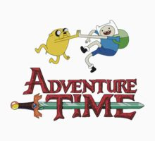 adventure time high Kids Tee