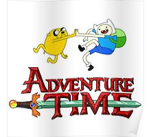adventure time high Poster