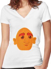 Herman Women's Fitted V-Neck T-Shirt
