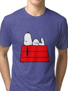 sleeping snoopy huft Tri-blend T-Shirt
