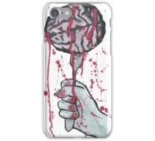Brains: The other grey meat iPhone Case/Skin